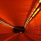 Orange Tunnel by RockyWalley
