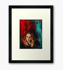 The brightest which of her age Framed Print