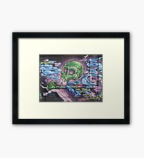 Breath from the jaws of death  Framed Print