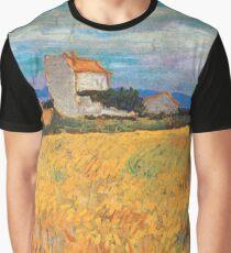 Wheat Field Vincent van Gogh Graphic T-Shirt