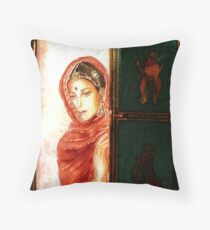 """"""" Where is he....???? """" - Joint Colloboration 3 Throw Pillow"""