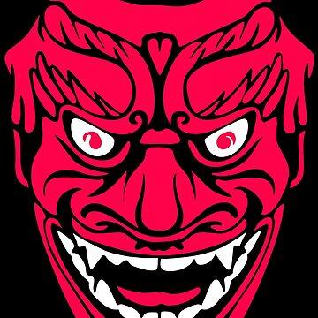 Oni Mask by forthemakaron