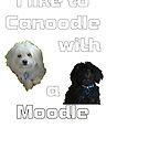 I like to canoodle with a Moodle by Ian McKenzie