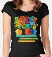 Speech Therapy Opens Doors to the World Women's Fitted Scoop T-Shirt