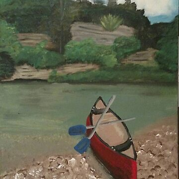 Paddle Your Own Canoe by LajoieCreations