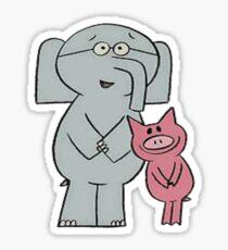 Elephant and Piggie  Sticker
