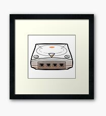 [DREAMCAST] CONSOLE Framed Print
