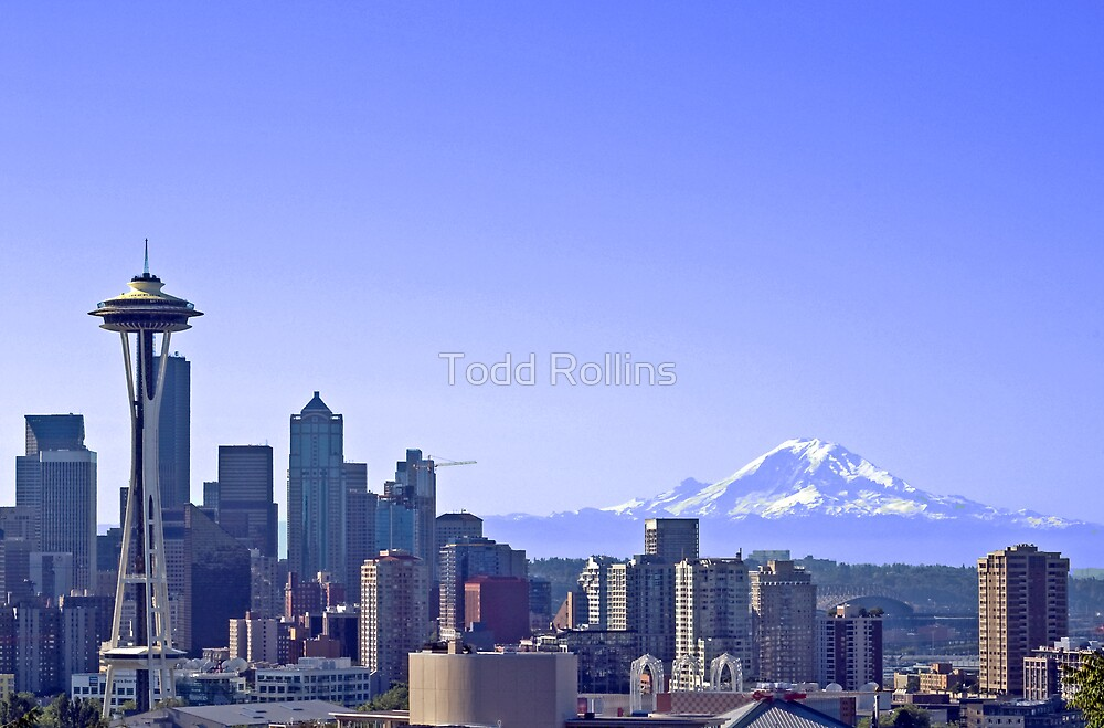 Summer In Seattle. by Todd Rollins