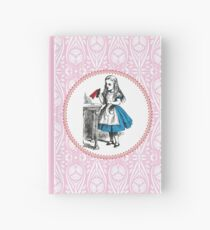 Alice in Wonderland   Drink Me Hardcover Journal
