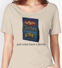 just relax have a dorite Women's Relaxed Fit T-Shirt
