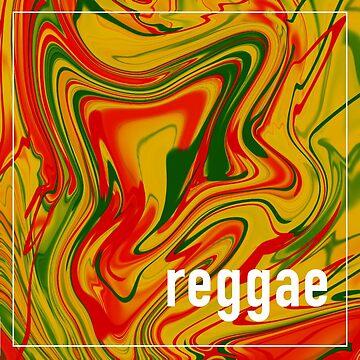 Reggae Sticker by anaiseguez