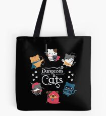 Dungeons & Cats Tote Bag