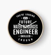 Water Resources Engineer Clock
