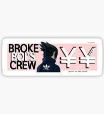 Broke Boi's Crew - Eviscerate Sticker