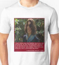 Flick and Geoffrey and Peter - Human Remains - Julia Davis & Rob Brydon T-Shirt
