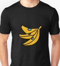 Banana Cartoon Teal Yellow T-Shirt