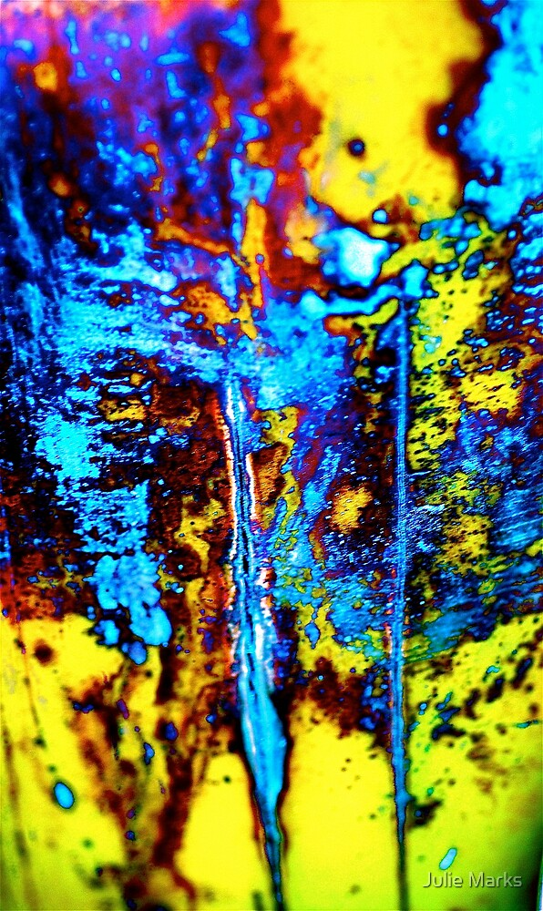 Plant Abstract by Julie Marks