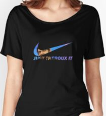 JUST THEROUX IT Women's Relaxed Fit T-Shirt