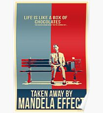 Mandela Effect - Life is Like a Box of Chocolates Poster