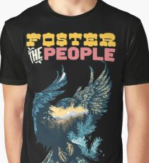 Foster the People Eagle Graphic T-Shirt
