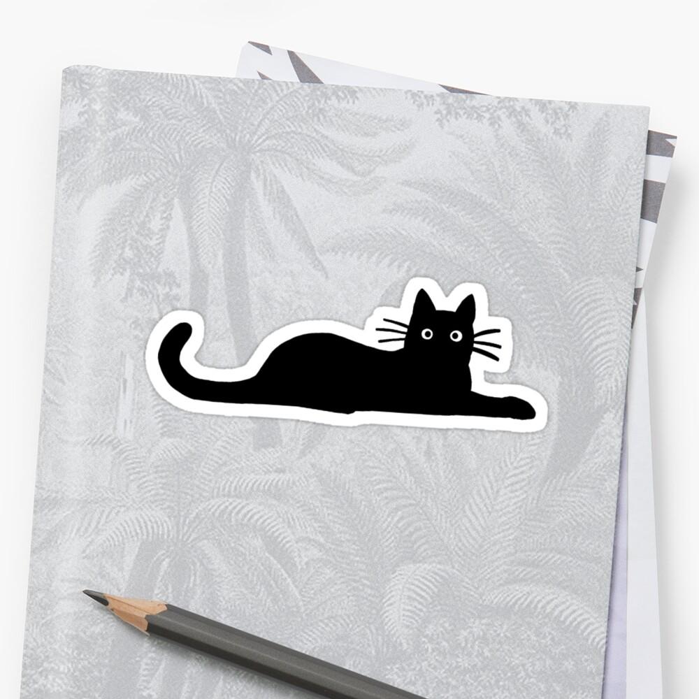 Black Cat by vivienne G