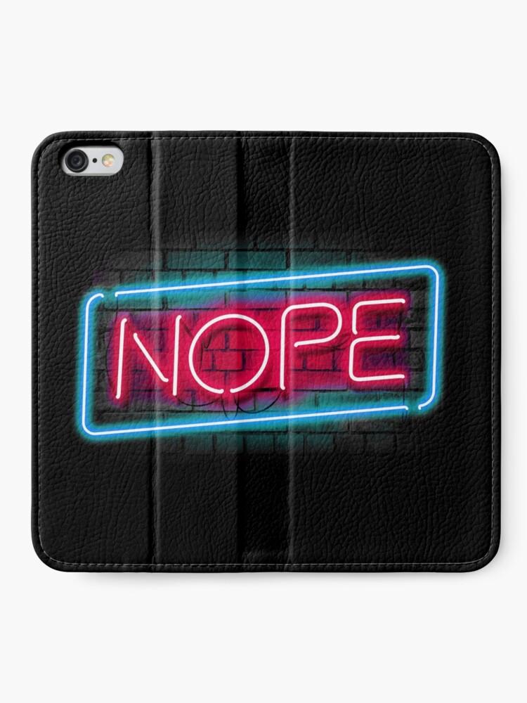 Alternative Ansicht von Nee iPhone Flip-Case
