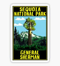 GENERAL SHERMAN TREE SEQUOIA NATIONAL PARK KINGS CANYON Sticker