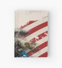 American Soldier Flag Hardcover Journal