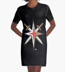 Vegas Golden Knights Graphic T-Shirt Dress