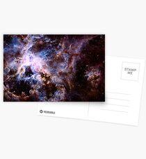 The Tarantula Nebula Postcards