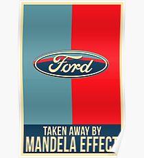 Mandela Effect - Ford Logo Poster