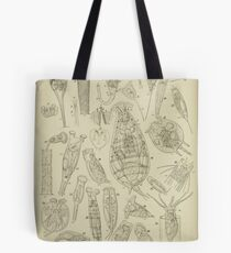 Microscopic Biology Tote Bag