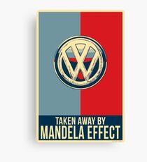 Mandela Effect - Volkswagen Logo Canvas Print
