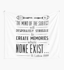 The Infinite Starter Remastered (White) Wall Tapestry