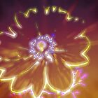 Glowing Flower by Forfarlass