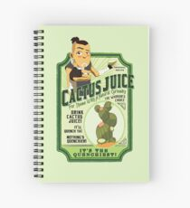 Drink Cactus Juice Spiral Notebook