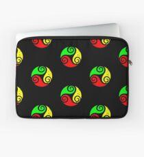 Reggae Flag Chilling Vibes - Cool Reggae Flag Colors Gifts Laptop Sleeve