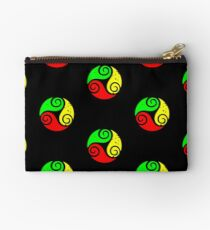 Reggae Flag Chilling Vibes - Cool Reggae Flag Colors Gifts Studio Pouch