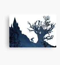 Prisoner of Azkaban Silhouette Canvas Print