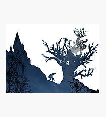 Moony's Silhouette  Photographic Print