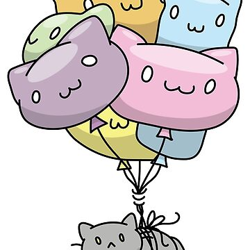 Balloon Loaf Cat by BountifulBean