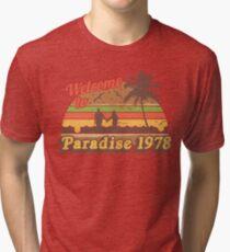 Cheesburger In Paradise 1978 Tri-blend T-Shirt