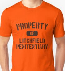 Property Of Litchfield Penitentiary Unisex T-Shirt