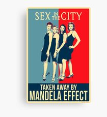 Mandela Effect - Sex in the City Canvas Print