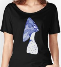 Mushroom Doodle Women's Relaxed Fit T-Shirt