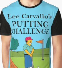 Lee Carvano's Putting Challenge  Graphic T-Shirt