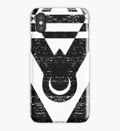 Connect With The Universe - Typography and Geometry iPhone Case/Skin