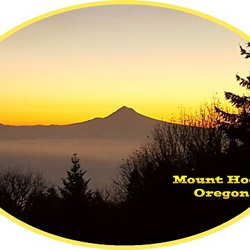 Mount Hood by Mount-Cynthus