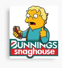 Bunnings Snaghouse  Canvas Print