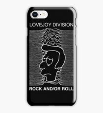 joy division - rock and/or roll iPhone Case/Skin